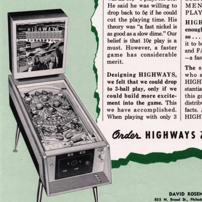 williams, highways, pinball, sales, price, date, city, condition, auction, ebay, private sale, retail sale, pinball machine, pinball price
