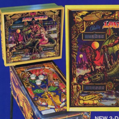 bally, lost world, pinball, sales, price, date, city, condition, auction, ebay, private sale, retail sale, pinball machine, pinball price