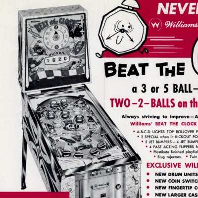 williams, beat the clock, pinball, sales, price, date, city, condition, auction, ebay, private sale, retail sale, pinball machine, pinball price