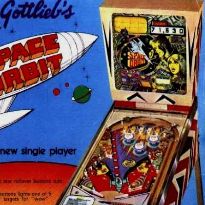 gottlieb, space orbit, pinball, sales, price, date, city, condition, auction, ebay, private sale, retail sale, pinball machine, pinball price