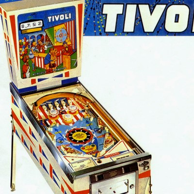 gottlieb, tivoli, pinball, sales, price, date, city, condition, auction, ebay, private sale, retail sale, pinball machine, pinball price