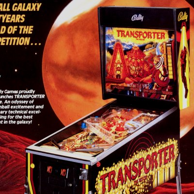 bally, transporter the rescue, pinball, sales, price, date, city, condition, auction, ebay, private sale, retail sale, pinball machine, pinball price