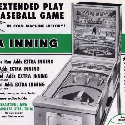 williams, extra inning, pinball, sales, price, date, city, condition, auction, ebay, private sale, retail sale, pinball machine, pinball price