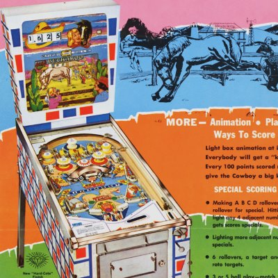 gottlieb, buckaroo, pinball, sales, price, date, city, condition, auction, ebay, private sale, retail sale, pinball machine, pinball price