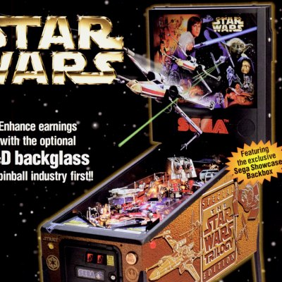 sega, star wars trilogy, pinball, sales, price, date, city, condition, auction, ebay, private sale, retail sale, pinball machine, pinball price