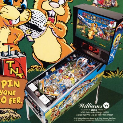 williams, no good gofers, pinball, sales, price, date, city, condition, auction, ebay, private sale, retail sale, pinball machine, pinball price