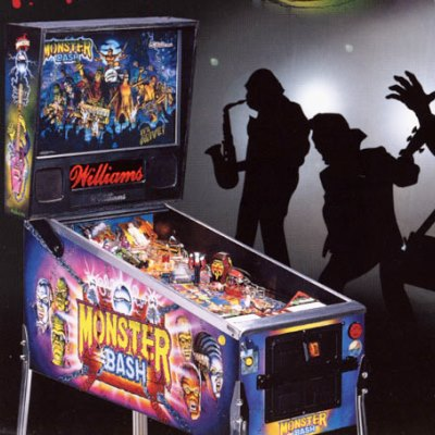 williams, monster bash, pinball, sales, price, date, city, condition, auction, ebay, private sale, retail sale, pinball machine, pinball price