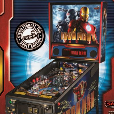 stern, iron man, pinball, sales, price, date, city, condition, auction, ebay, private sale, retail sale, pinball machine, pinball price