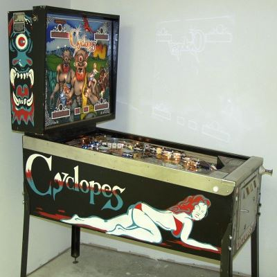 game plan, cyclopes, pinball, sales, price, date, city, condition, auction, ebay, private sale, retail sale, pinball machine, pinball price