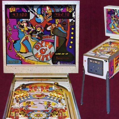 allied leisure, dyn o' mite, pinball, sales, price, date, city, condition, auction, ebay, private sale, retail sale, pinball machine, pinball price