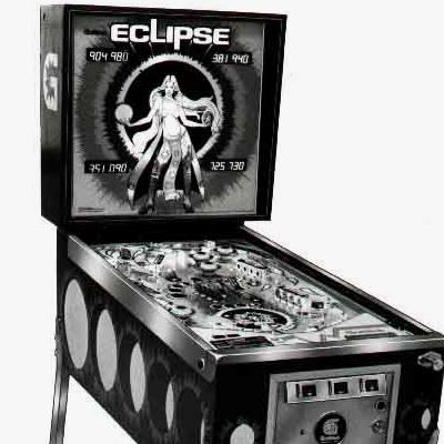 gottlieb, eclipse, pinball, sales, price, date, city, condition, auction, ebay, private sale, retail sale, pinball machine, pinball price