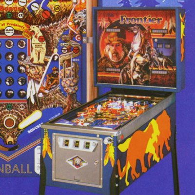 bally, frontier, pinball, sales, price, date, city, condition, auction, ebay, private sale, retail sale, pinball machine, pinball price